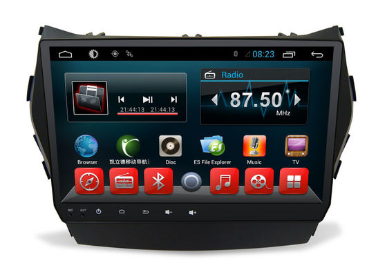 China Touch Screen Android-Doppelt-Lärm-Auto Dvd-Navigations-Multimedia-System für IX45 fournisseur