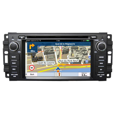 2 Navigationsanlage-Touch Screen Lärm-Auto-Media Players Dodge Android Auto-DVD GPS