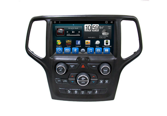 Selbstauto GPS-Navigationsanlage 9 Zoll-intelligenter Touch Screen für Jeep-Grand Cherokee