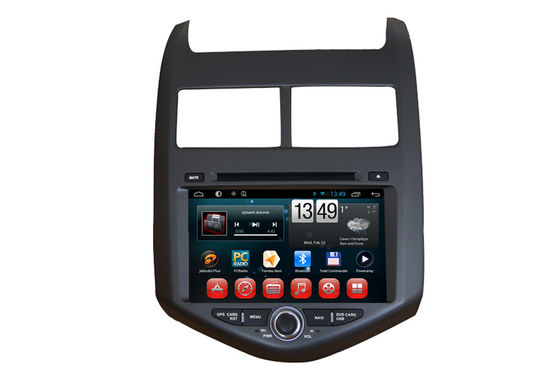 China 2 Lärm AVEO Chevrolet GPS Navigation androider OS-Auto-DVD-Spieler mit Touch Screen fournisseur