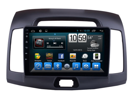 Radio-Android-Auto-Media Players 9 WIFIS Bluetooth Zoll Hyundai Elantra 2007-2011