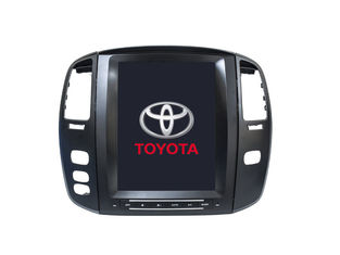 China Navigation Land Cruiser Tesla-Schirm-Multimedia-Toyotas GPS 100 LC100 2003 2007 fournisseur