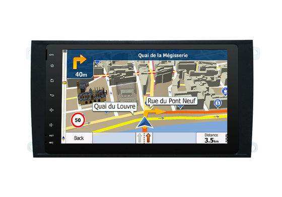 Multi Touch Screen der Android-Auto-Multimedia-Navigationsanlage-Porsche Cayenne 2003-2010