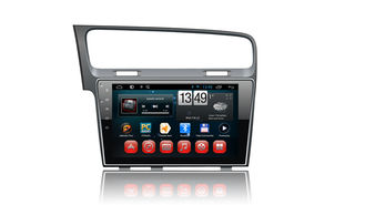 China 10 Zoll-Touch Screen Android 4,4 Gps-Radio, VW spielen 7 Gps-Navigationsanlage Golf fournisseur