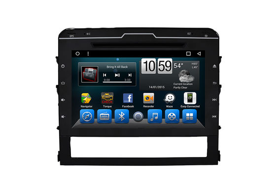 Touch Screen Auto-DVD-Spieler-Toyota Dvd Gps-Navigationsanlage Land Cruiser 2015-2017