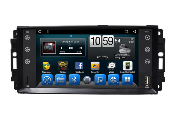Jeep 2 Dn-Stereoauto-Multimedia-Navigationsanlage 7 Zoll-Touch Screen GPS-Radio